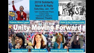 Solidarity Rally 2019, Columbia, Missouri
