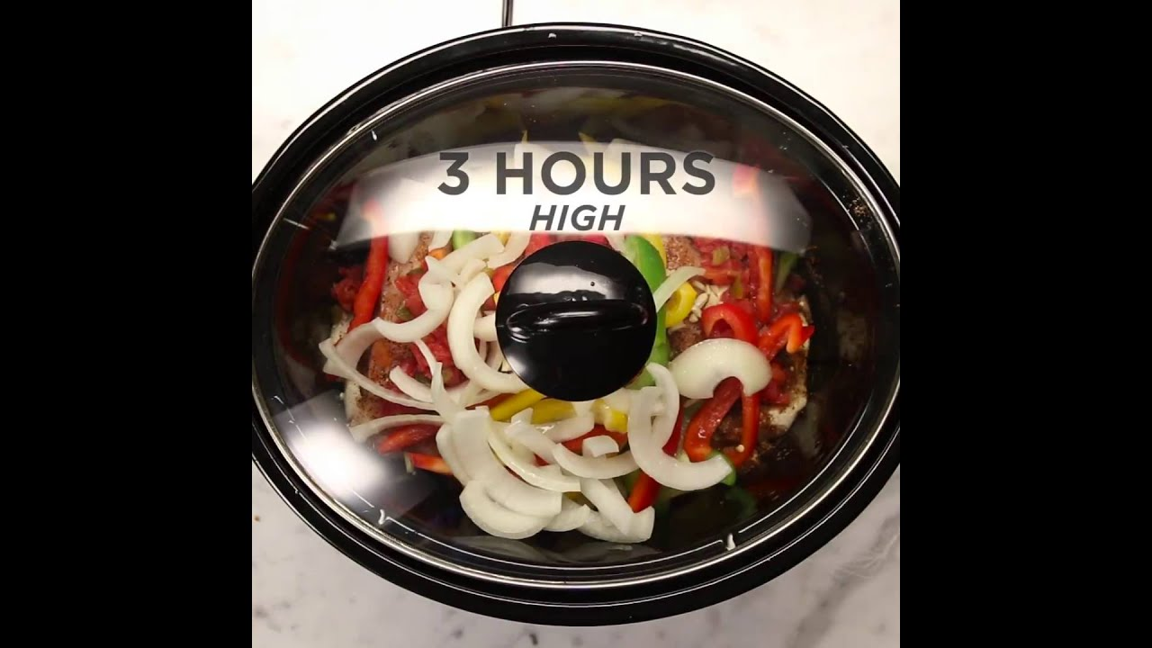 Slow cooker chicken fajitas buzzfeed tastys youtube forumfinder Gallery