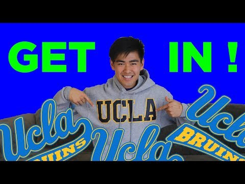What UCLA Won't Tell You About Admissions: How I Got In!