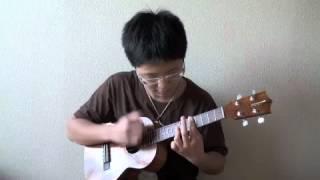 """KAZUKI plays """" Third Stream """" by Jake Shimabukuro"""