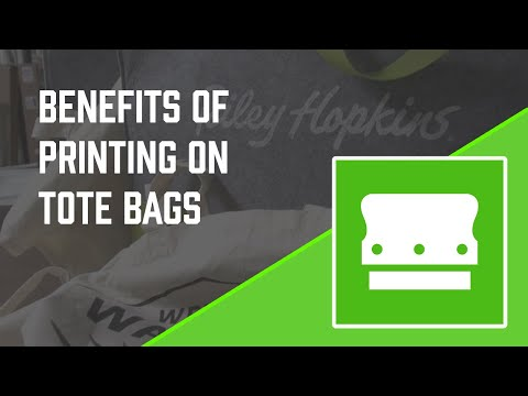 Reap the Benefits of Screen Printing on Tote Bags