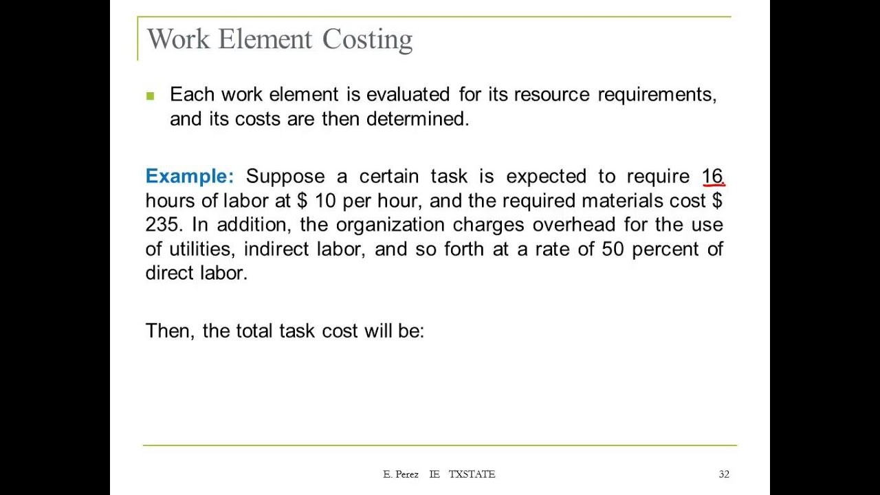 Lecture 5: Budgeting the Project - YouTube