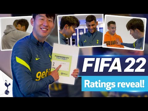 Spurs FIFA 22 rating reactions |  Heung-min Son with Dele, Dier, Ndombele, Romero and more