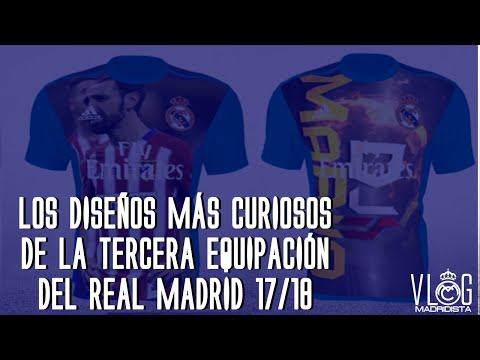 Los diseños más curiosos de la Tercera equipación del Real Madrid 17/18 - Adidas Creator Studio - 동영상