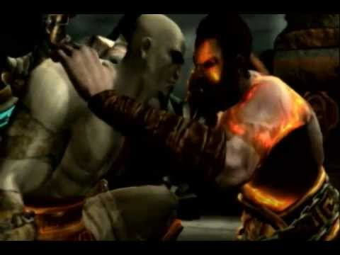 Pictures of God Of War Kratos Vs Deimos - #rock-cafe