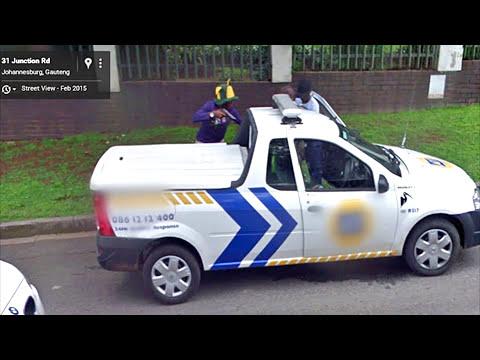 10 Weirdest Things Captured on Google Street View 2016