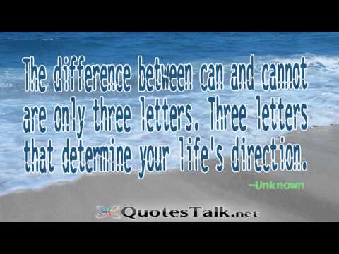 Positive Thinking Quotes - Picture Audio Meaningful Quotes