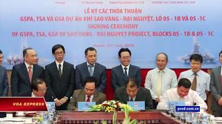 Việt-Nhật hợp tác khai thác trên Biển Đông (VOA)