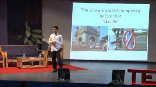 Screw ups lead to success | Ravi Theja Muthu | TEDxSIUHinjewadi