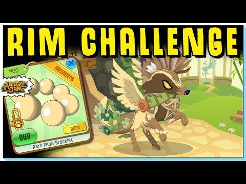 Animal Jam RIM Challenge: Rare Pearl Bracelet - This one was hard!