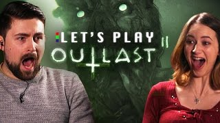 SCARED STUPID - Outlast 2 Demo Let's Play