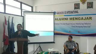 Sambutan Dekan FT Unimus Dr.RM. Bagus Irawan, M.Si.IPM