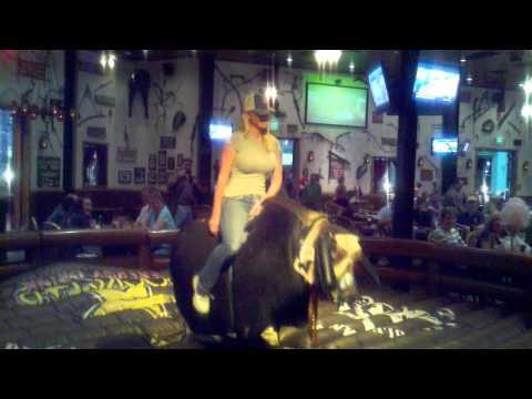 Lacey Von Erich Bull Riding
