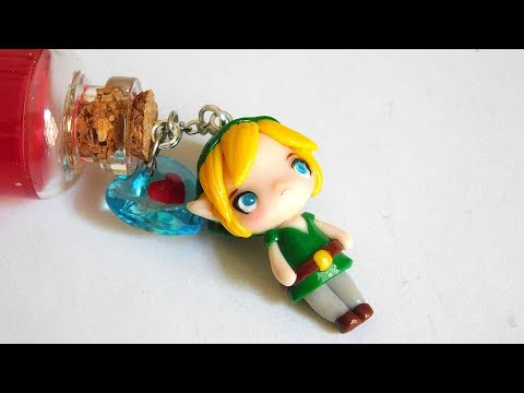 DIY ♥ The Legend of Zelda Charms - Polymer Clay & Resin