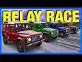 Forza Horizon 3 Online : THE RELAY RACE #3!!