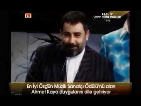 AHMET KAYA  KRAL Tv  Müzik Ödülleri 1996
