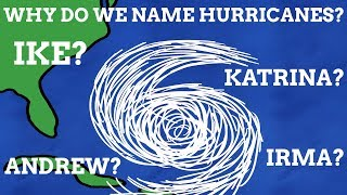 Why Do We Give Hurricanes Names?
