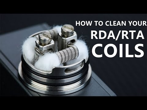 Easy way TO CLEAN gunky coils on RTA and RDA