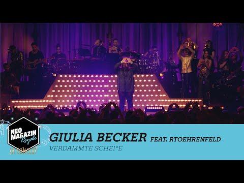 Giulia Becker - Verdammte Schei*e [LIVE] | NEO MAGAZIN ROYALE in Concert