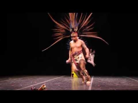Kalpulli Atl~Tlachinolli: Ancient Aztec dance ritual. Theater for the New City, NYC.