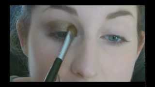 Simple Gold Smokey Eyes Tutorial Thumbnail