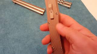 Russian Spetsnaz Angel Blade Paladin OTF - Bat Knives
