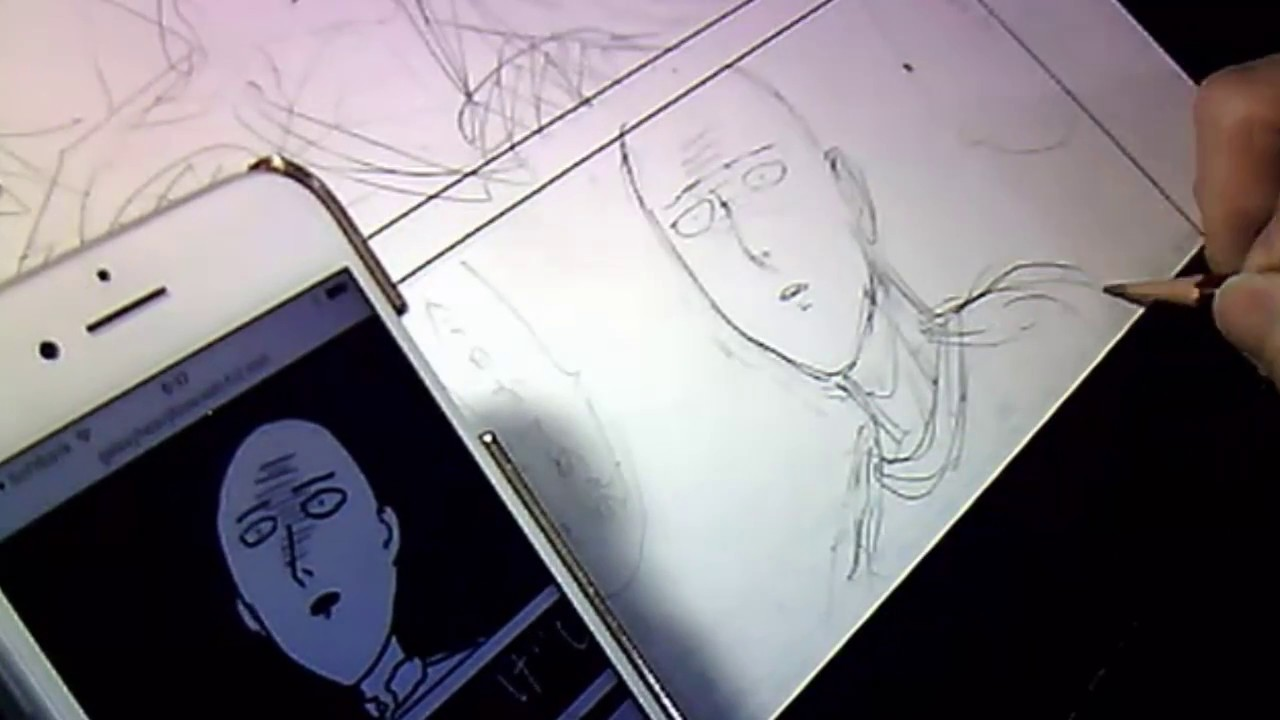 Yusuke MURATA - Live Drawing #26 Pencilling & Inkink manga page