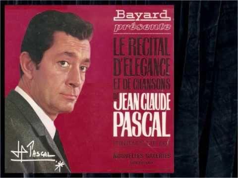 Jean Claude Pascal - Je vous écris - Disque souple publicitaire - 1965