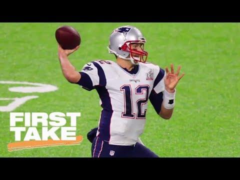 First Take Debates Tom Brady Retiring After 2017-18 NFL Season | First Take | ESPN
