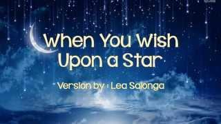 When You Wish Upon a Star - Lea Salonga (w/ lyrics)