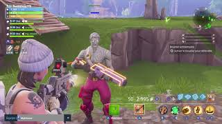 FORTNITE ON TROLL OF SCAMORS ON WORLD #5