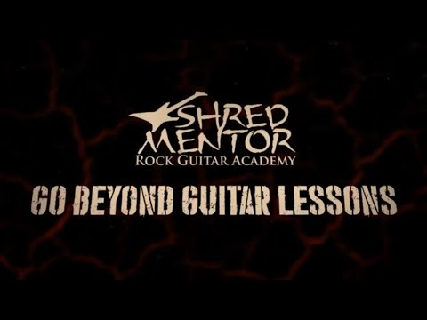 Beyond Guitar Lessons — ShredMentor