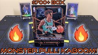 *MONSTER PULL! KABOOM!* 2019-20 Panini Obsidian Basketball FOTL (1st Off The Line) Hobby Box Break