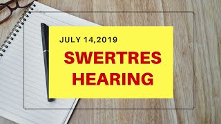 SWERTRES HEARING | PYRAMID ANALYSIS