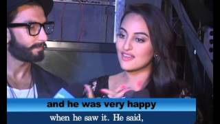 Lootera movie-Shotgun Shatrughan Sinha happy with upcoming movie of Sonakshi Sinha-likes trailer