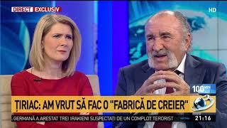 Ion Țiriac, la Antena 3: Românul e greu de educat