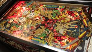 1979 Williams GORGAR pinball machine