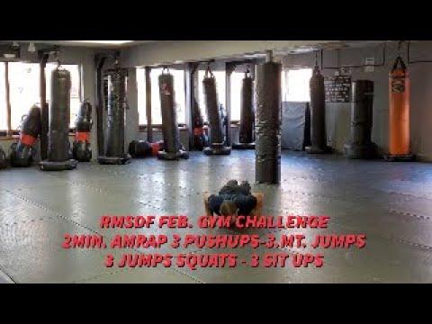 Feb Gym Challenge