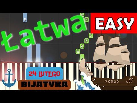 🎹 24 lutego (Bijatyka) - Piano Tutorial (łatwa wersja) 🎹