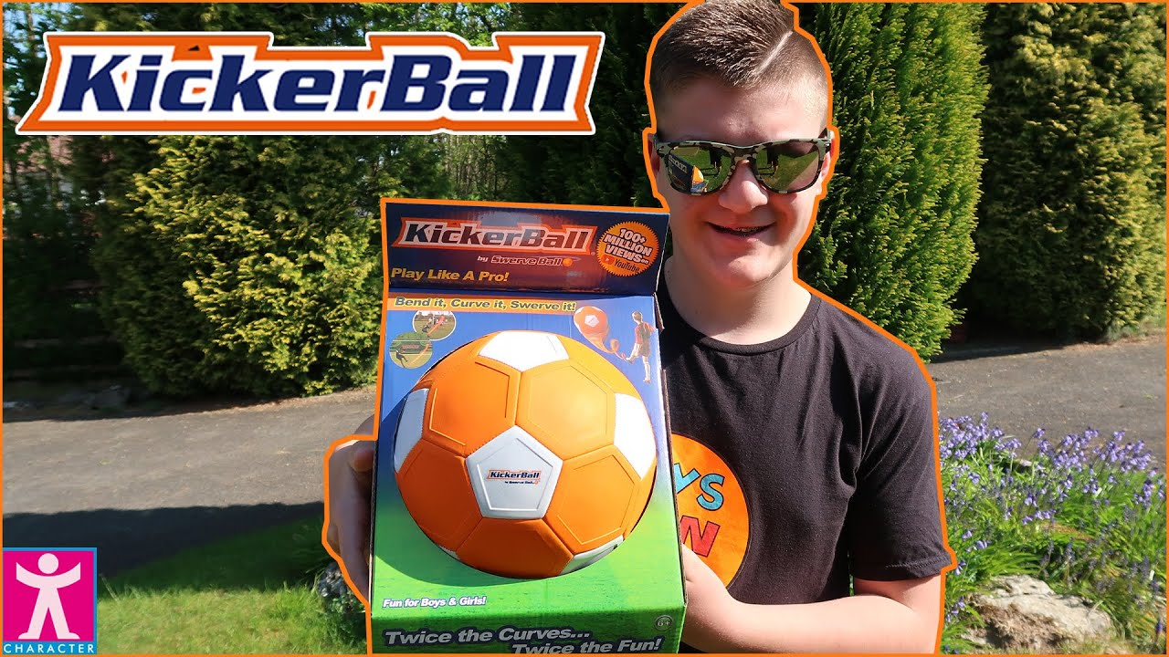 KickerBall Football Skills Challenge Curve Bend And Swerve Goals#AD