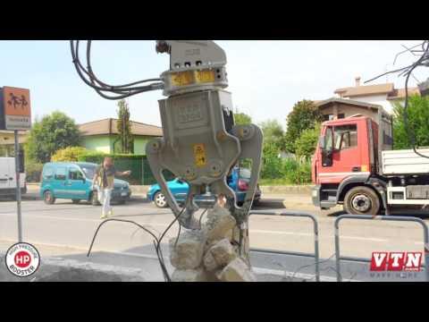 Video Hydraulické demoliční nůžky VTN série HP