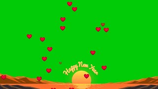 Happy new year green screen effects no copyright