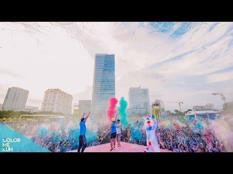 Colorful Journey of Music, Love & Art | Best Moments in Color Me Run presented by UnionPay 2019
