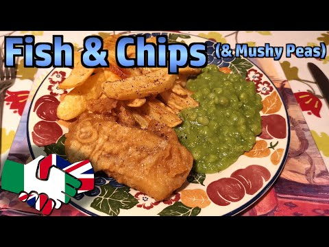 Making Fish & Chips (Served With Mushy Peas)