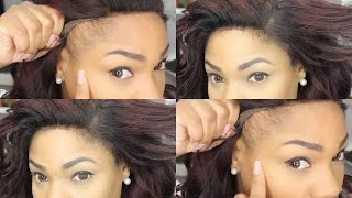 How To Make Your Lace Frontal Look Natural | No Edges | No Glue | Lace frontal Wig