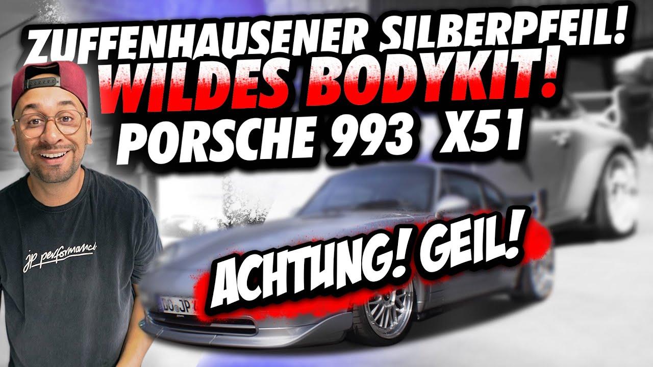 JP Performance - Zuffenhausener Silberpfeil   Wildes Bodykit!   Porsche 993 X51