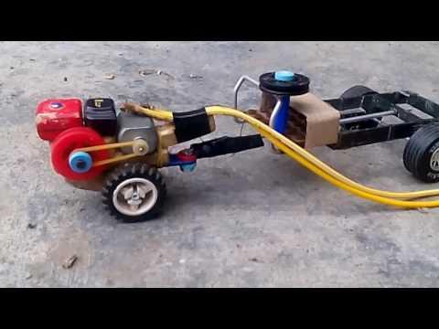 Xe Công Nông mini tự chế