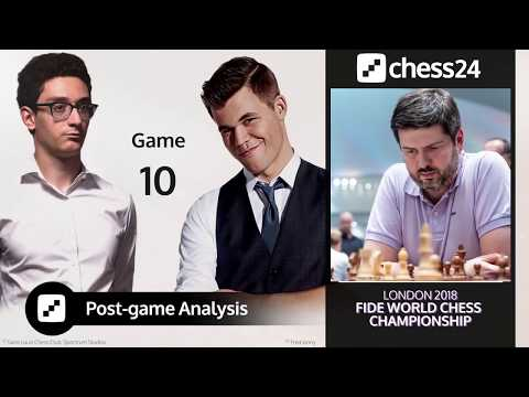 Svidler's Caruana-Carlsen Game 10 Analysis - 2018 FIDE World Chess Championship