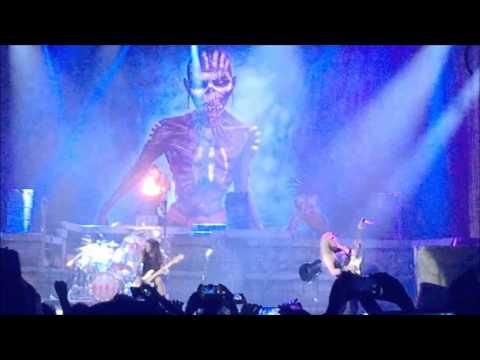 Iron Maiden live at Mexico City 2016