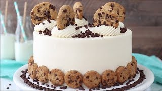 Milk and Cookies Cake by Life Love and Sugar